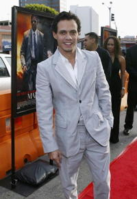 Marc Anthony at the Westwood premiere of