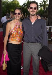 Wendy Gazelle and John Ales at the premiere of