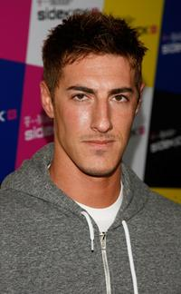 Eric Balfour at the T-Mobile Sidekick iD launch party.