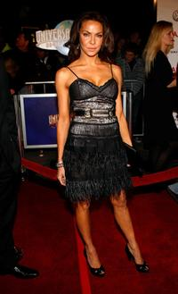 Cyia Batten at the premiere of