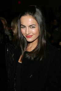 Camilla Belle at the Carlos Miele Fall 2007 fashion show during the Mercedes-Benz Fashion Week.