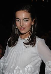 Camilla Belle at the Max Azria Fall 2007 fashion show during the Mercedes-Benz Fashion Week.
