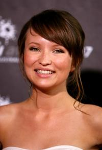 Emily Browning at the LOreal Paris 2007 AFI Awards Dinner.