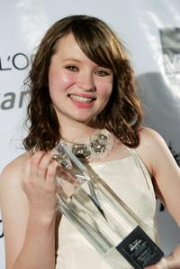 Emily Browning at the LOreal Paris 2005 AFI Awards.