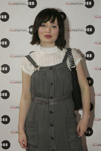 Emily Browning at the opening of the 2006 Melbourne International Film Festival.