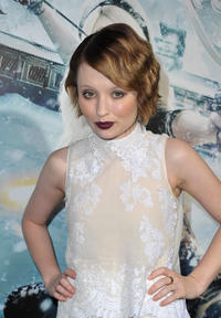 Emily Browning at the California premiere of