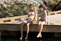 Arielle Kebbel as Alex and Emily Browning as Anna in
