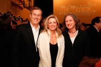 Peter Sachse, Martine Reardon and Michael Buscemi at the special premiere of