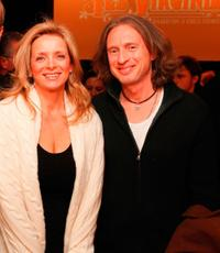 Martine Reardon and Michael Buscemi at the special premiere of