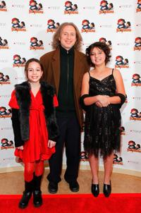 Beatrice Miller, Michael Buscemi and Taylor Hay at the special premiere of