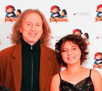 Michael Buscemi and Taylor Hay at the special premiere of