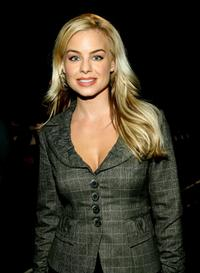 Jessica Collins at the Kevan Hall Spring 2008 fashion show during the Mercedes Benz Fashion Week.