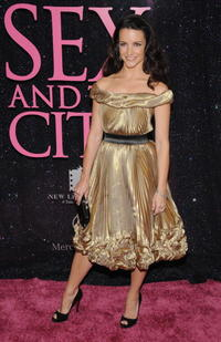 Kristin Davis at the N.Y. premiere of