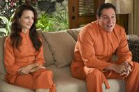 Kristin Davis and Jon Favreau in