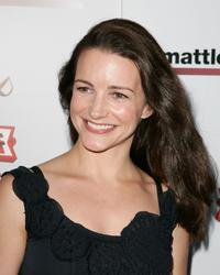 Kristin Davis at the Matt Leinart Foundation Celebrity Bowling Event.