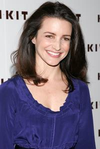 Kristin Davis at the Launch of the KIKIT spring / summer 2007 collection.