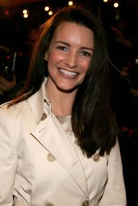 Kristin Davis at the Opening Night of
