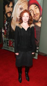 Karyn Dwyer at the premiere of