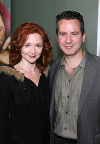 Karyn Dwyer and Nicholas Tabarrok at the premiere of