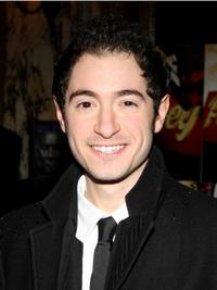 Jason Fuchs at the Broadway opening of