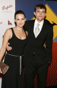 Carla Gallo and Nick Stahl at the Penfolds Gala Black Tie Dinner the kick off event for GDay LA: Australia Week 2005.