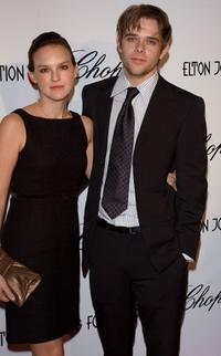 Carla Gallo and Nick Stahl at the 13th Annual Elton John Aids Foundation Academy Awards.