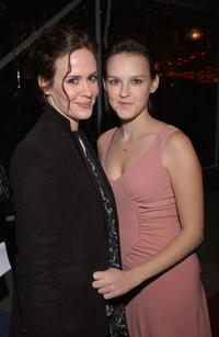 Sarah Paulson and Carla Gallo at the