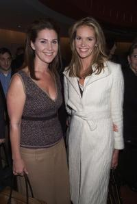 Peri Gilpin and Elle MacPherson at the Showtime Annual Programming Preview Luncheon.