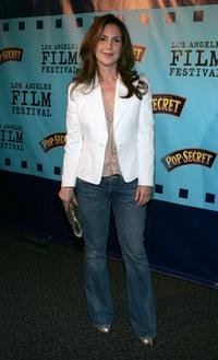 Peri Gilpin at the premiere of