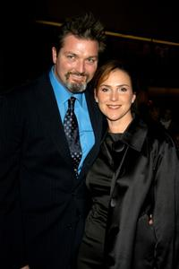 Christian Vincent and Peri Gilpin at the 8th Annual Art Directors Guild Awards Show.