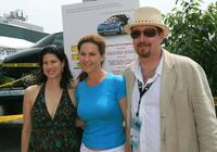 Melissa Fitzgerald, Peri Gilpin and Producer Richard D. Titus at the after party of the premiere of