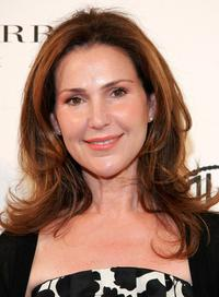 Peri Gilpin at the Caroline Herrera Spring 2007 Fashion Show.