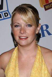 Melissa Joan Hart at the Museum of Television and Radio Cocktail Party.