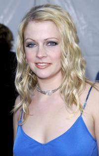 Melissa Joan Hart at the 30th Annual American Music Awards.
