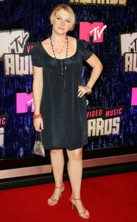 Melissa Joan Hart at the 2007 MTV Video Music Awards.