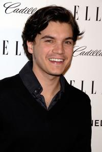 Emile Hirsch at the 14th Annual Women in Hollywood party.