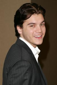 Emile Hirsch at the 67th Annual Awards luncheon.