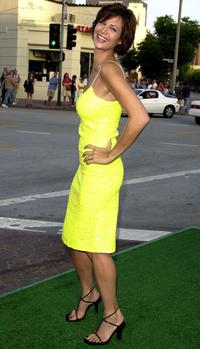 """Caroline Keenan at the premiere of """"The Replacements."""""""