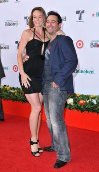 Amanda Lavan and Rene Lavan at the 2008 Billboard Latin Music Awards.
