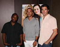 Sean Nelson, Jesse Williams and Harmon Walsh at the special screening of