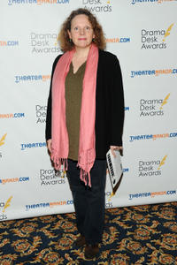 Maryann Plunkett at the 2013 Drama Desk Nominees Reception in New York.