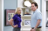Jaime Pressly as Denise and Jon Favreau as Barry in