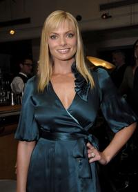 Jaime Pressly at the Smashbox Cosmetics' Kick Off LA Mercedes Benz Fashion Week.