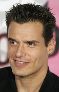 Antonio Sabato, Jr. at the Motorola Fifth Anniversary party.