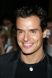 Antonio Sabato, Jr. at the 2005 World Music Awards.