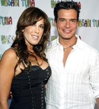 Celia Fox and Antonio Sabato, Jr. at the premiere of