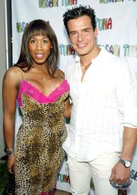 Brown Sugar and Antonio Sabato, Jr. at the premiere of
