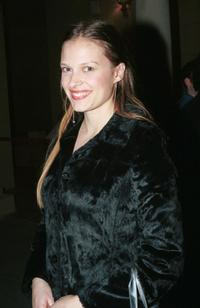 Vinessa Shaw at the Highlands nightclub during its grand opening.