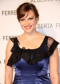 Vinessa Shaw at the Alberta Ferretti Store opening.