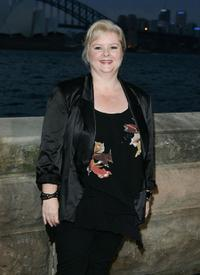 Magda Szubanski at the Sydney premiere of